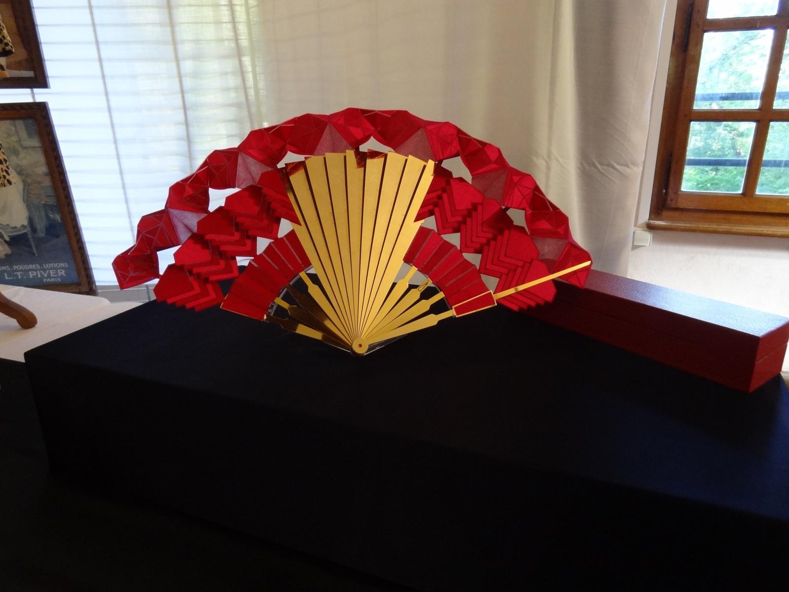 Ruby Fan at StEustache exhibition